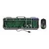Kit tastiera e mouse gaming tecno tc-bg2006kit retroil mouse rrg