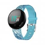 Smartwatch tm-joy-flo1 con cardio azzurro
