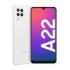 Smartphone galaxy a22 (sm-a225f) 64gb bianco - garanzia italia - brand operatore