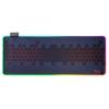 Gaming mouse pad rgb e1 - materiale premium, antiscivolo, massima precisione, rgb con 12 modalit, 800x300x3mm