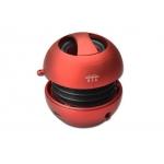 Mini speaker bluetooth portatile a batteria 3w colore rosso