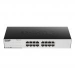 Hub switch 16 porte gigabit d-link go-sw-16g easy desktop