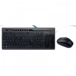 Kit tastiera e mouse wireless tecno tc-820w
