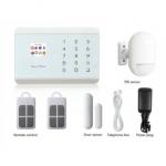 Kit centrale allarme link gsm 1 sens porta 1 sens ir 2 telecom.