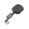 Flat cable tasto home con sensore impronte nero x apple iphone 6