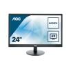 """monitor aoc 23,6"""" led e2470swhe 1920x1080 5ms 1000:1 2xhdmi vesa bl"""