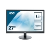 "monitor aoc 27"" led e2770sh 1920x1080 1ms 1000:1 hdmi/dvi vesa black"