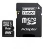 Micro sd 8gb con adattatore sd classe 4 goodram