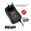 Alim. universale 30w 3-12v 8 conn. con mini/micro usb/usb 7029