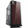 Case atx itek cosmic 23 gaming rgb fan con telec. glass black