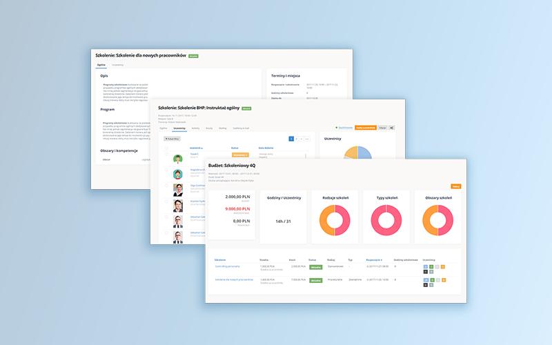 Training management HR platform implementation