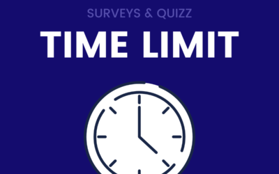 Time limit in quizz - Survey for employees