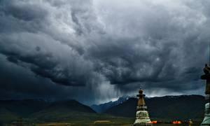 Chörten, monument religieux tibétain