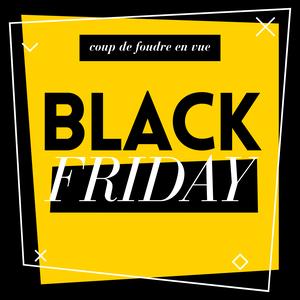 Black friday généraliste jaune