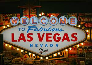 Panneau welcome to las vegas