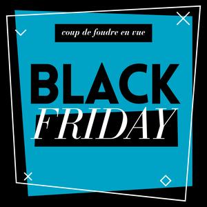 Black friday généraliste bleu