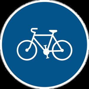Piste ou bande obligatoire pour les cycles sans side-car ou remorque