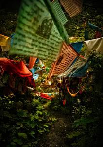 Drapeau de prière tibétain