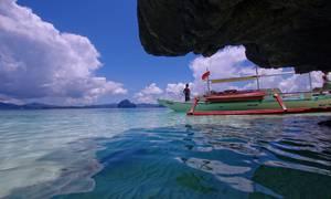 Bateaux sur mer calme