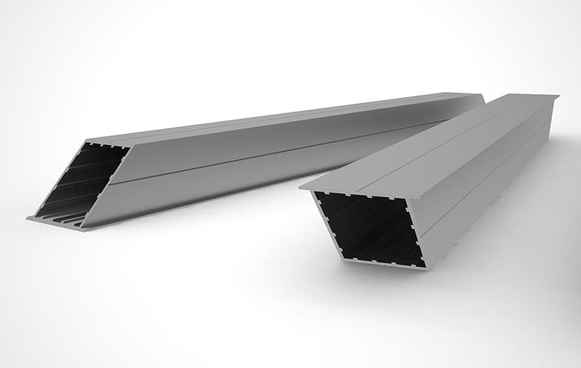tableau photo luxe : profilé aluminium