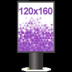 Affiche 120x160 ou 118x158