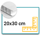 Panneau Akilux 3,5mm 20x30 cm