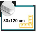 Panneau Akilux 4,5mm 80x120 cm