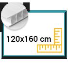Panneau Akilux 4,5mm 120x160 cm
