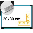 Panneau Akilux 4,5mm 20x30 cm