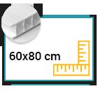 Panneau Akilux 4,5mm 60x80 cm