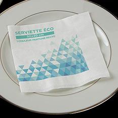 Serviettes papier éco