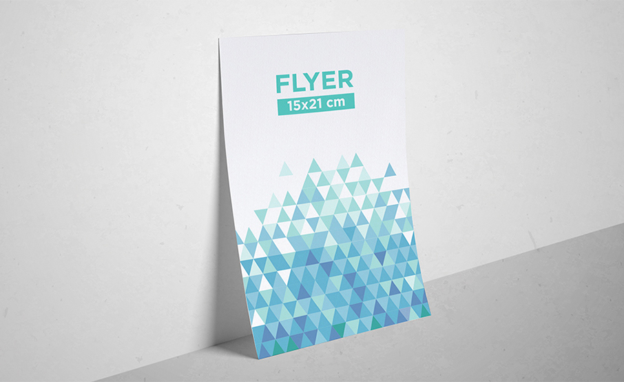Flyers  standards 15x21cm