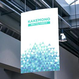 Kakémono recto/verso