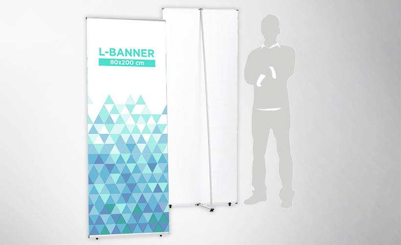 L-banner