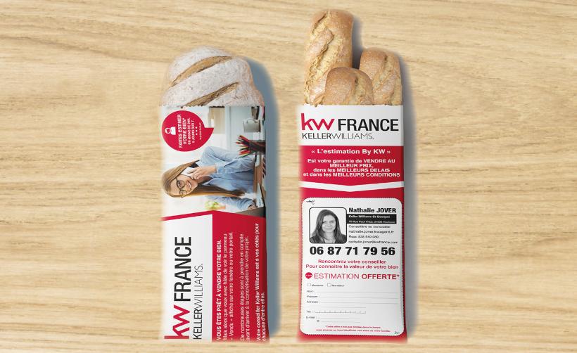 Sac à pain 14x4x38 cm