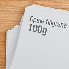 Support papier 100g Opale filigrané