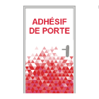 Sticker pour porte (Total covering)