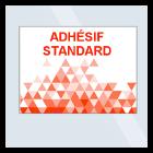 Adhésif standard pour vitrine