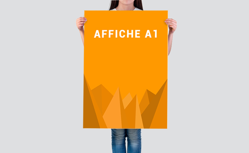 Impression en ligne affiche petit format A1