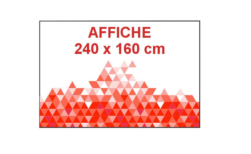 Impression en ligne affiche 260 x 160cm