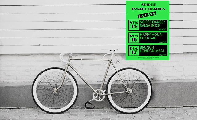 Impression en ligne affiche fluo verte