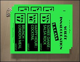 caractéristiques du porte leaflet