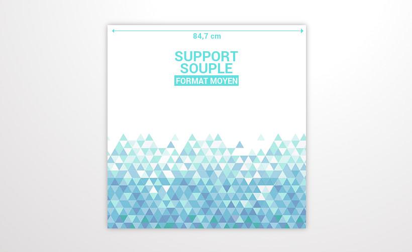 Support souple pour On The Sky format moyen