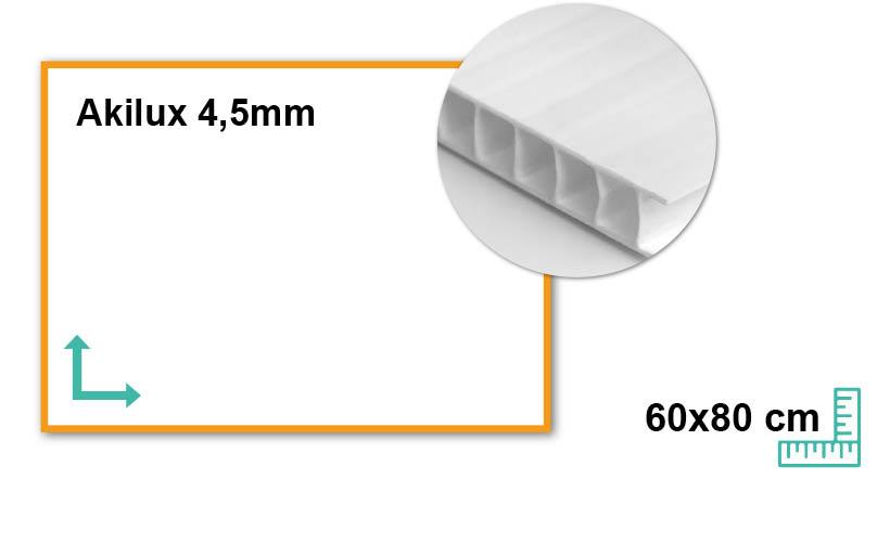 Akilux 4,5mm 60x80