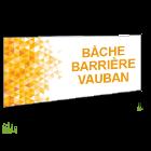 Bâche barrière Vauban