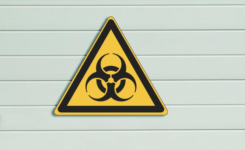 Signalétique de sécurité : risque biologique