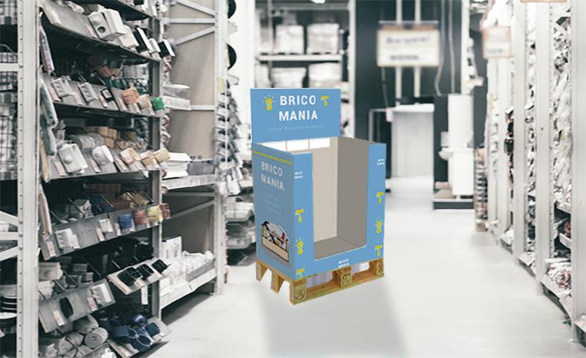 Imprimez vos PLV de box demi palette