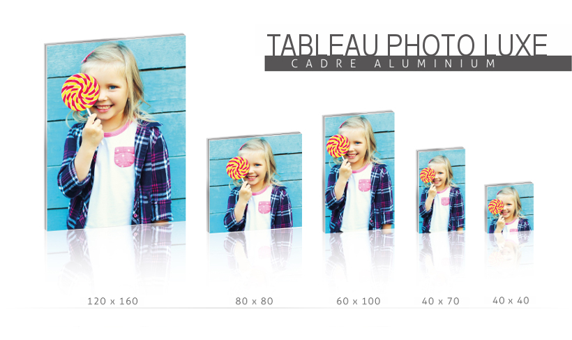 Tableau Photo Luxe : formats