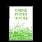 Cadre photo textile