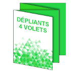 Dépliants 4 volets